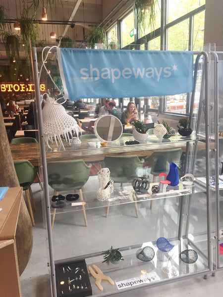 Shapeways Booth at the Dutch Design Week