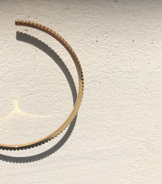 INGRANAGGI Maxi Hoop Earrings by V DESIGN LAB