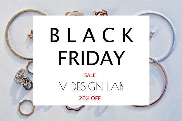V DESIGN LAB Jewellery Black Friday Cyber Monday