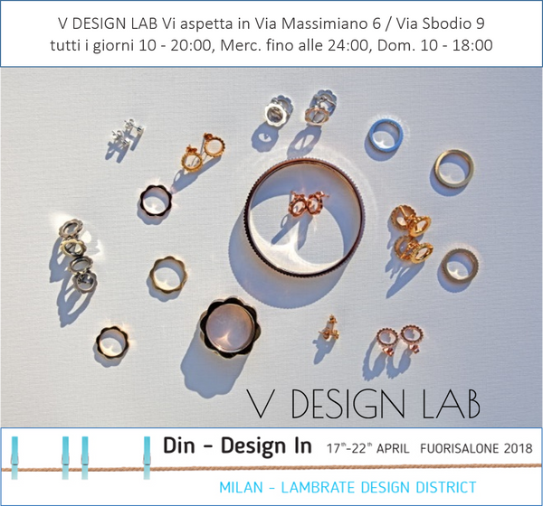 V DESIGN LAB Jewellery at Artistar Jewels Temporary Shop / DIN Design In 2018