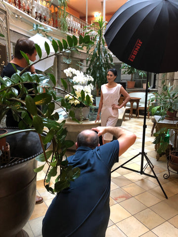 V DESIGN LAB Jewellery at Ethno Pearls Photoshooting in Baden