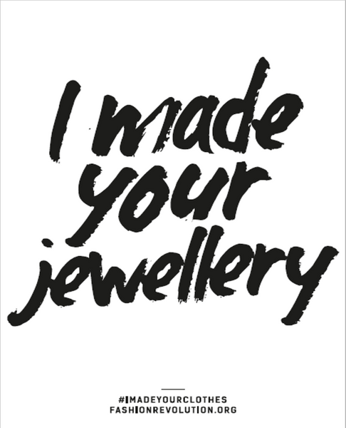 I made your Jewellery V DESIGN LAB Fashion Revolution Switzerland
