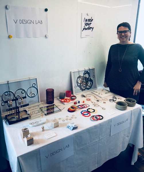 Valeria Designer & Founder of V DESIGN LAB Jewellery