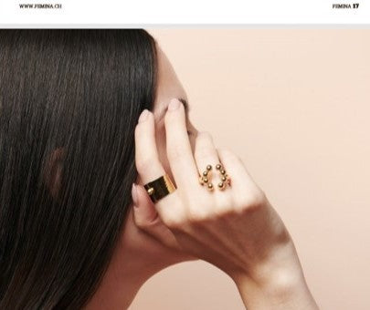 REBORN (Dali') Open Ring by V DESIGN LAB Jewellery