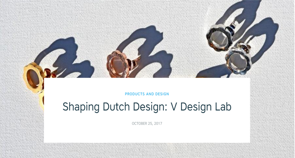 V DESIGN LAB Jewelry Shaping Dutch Design, Shapeways says