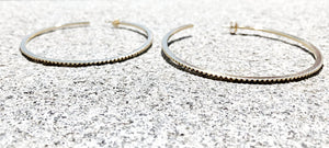 INGRANAGGI Maxi Hoop Earrings