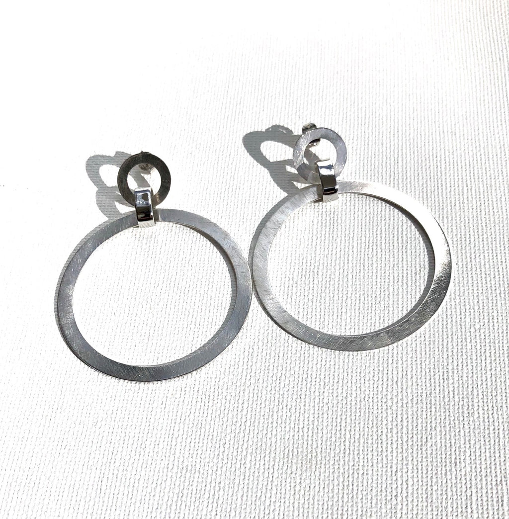 Billabong Double Hoop Earrings
