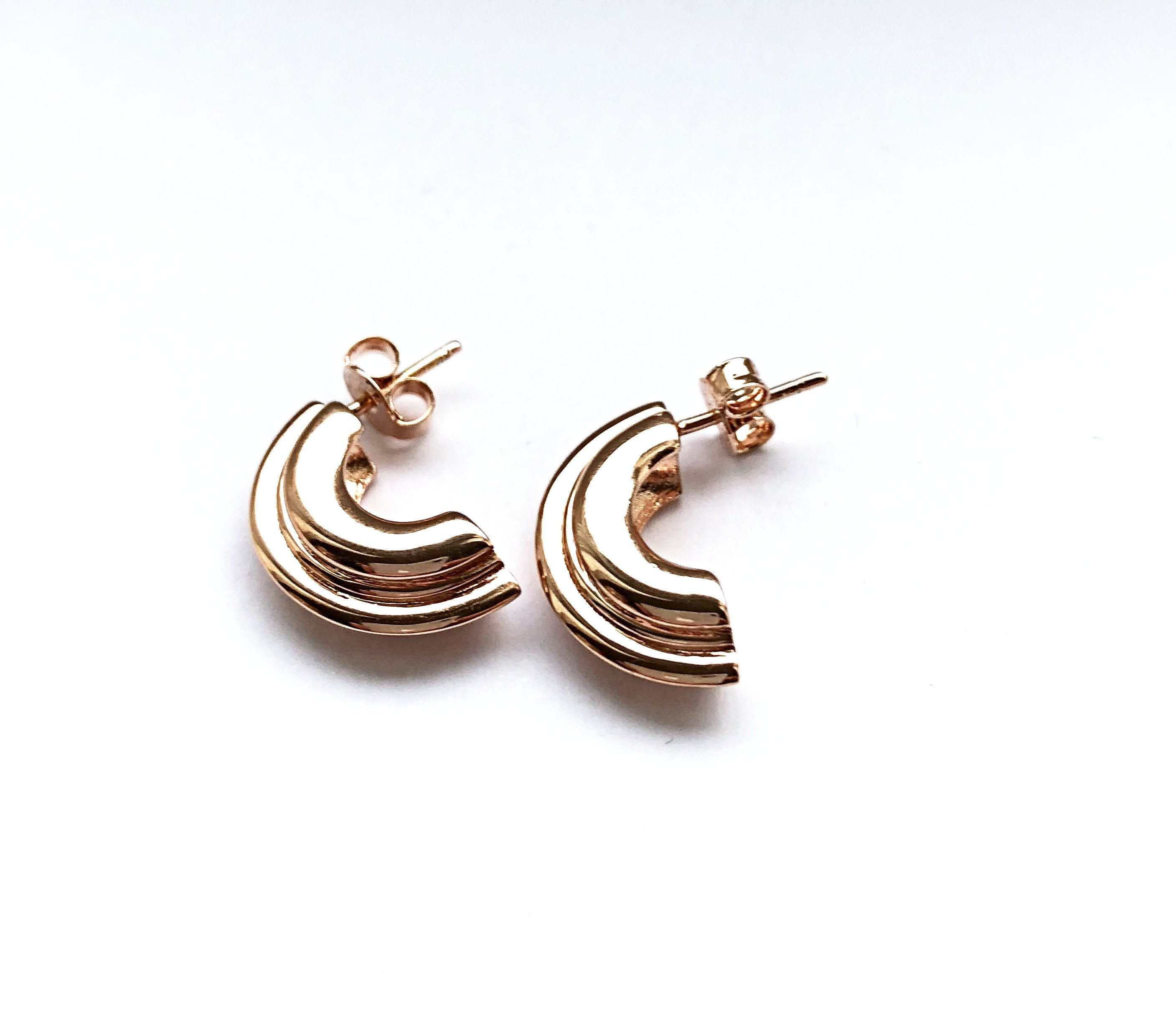 PNEUS Small Half Hoop Earrings