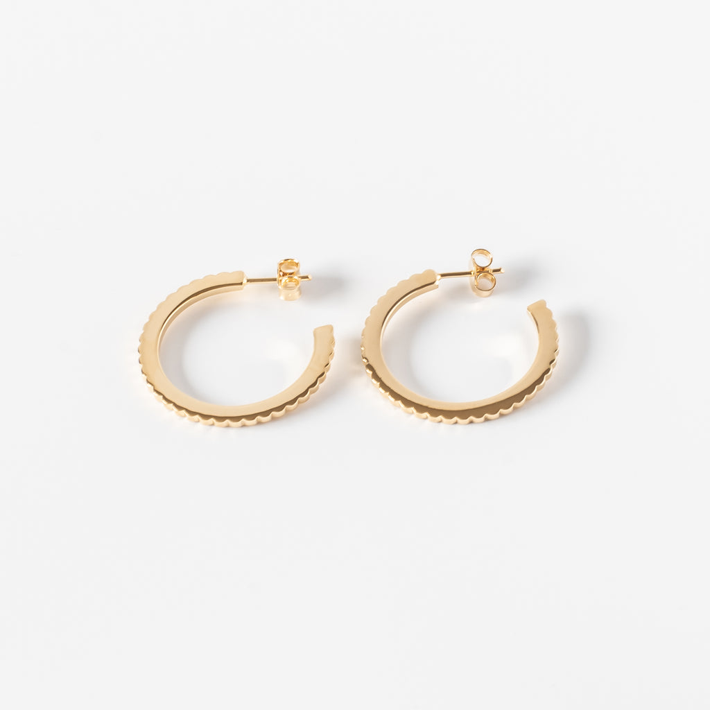 INGRANAGGI Hoop Earrings