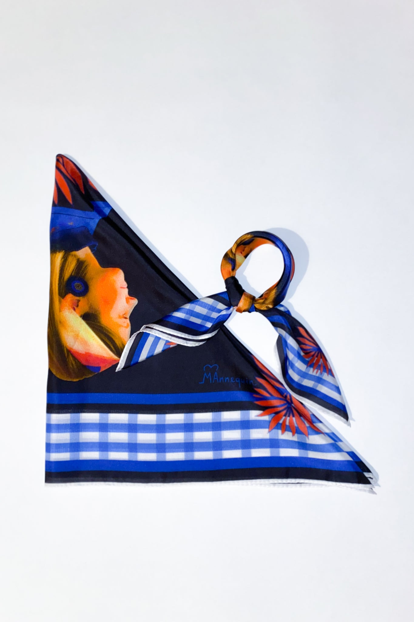 This is [M]e Silk Scarf