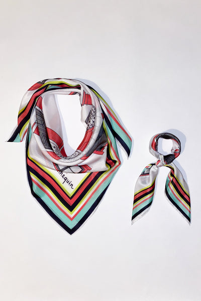 The Latremeno Silk Scarf