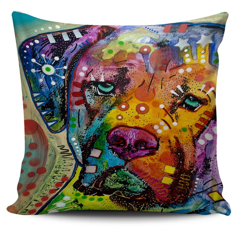 FREE Dog Art Throw Pillow Covers