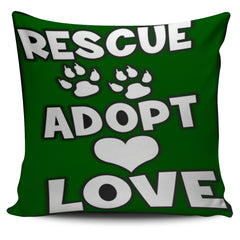 Bespoke Dog Rescue Art Throw Pillow Covers