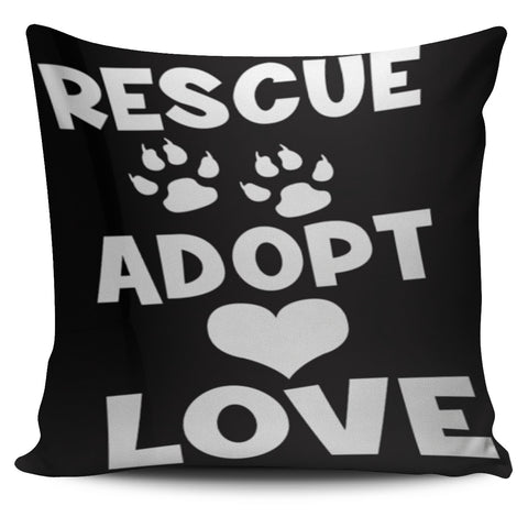 FREE Dog Rescue Art Throw Pillow Covers
