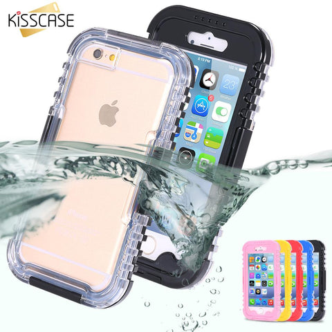 Apple Phones Waterproof Swimming Phone Cases
