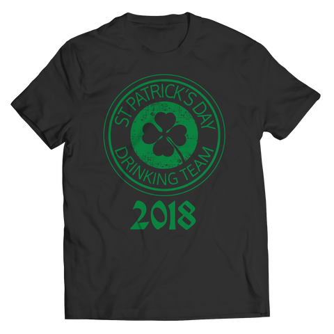 St Patrick's Drinking Team 2018