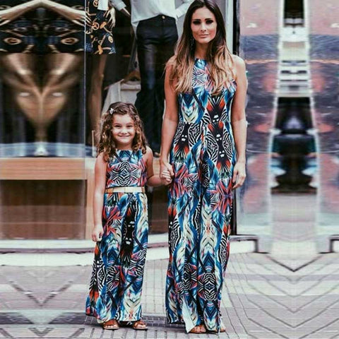 Mother And Daughter Bespoke Dresses