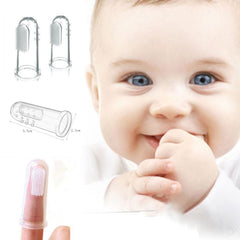 Soft Silicone Finger Massage Baby Toothbrush