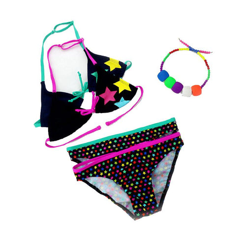 Two-piece Girls Bikini Swimwear
