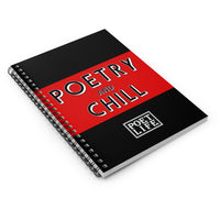 Poetry & Chill Spiral Notebook - Ruled Line