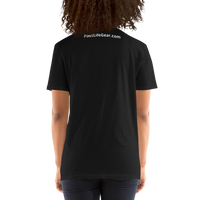 Fighting Cancer With Poetry Short-Sleeve Unisex T-Shirt (Multiple Myeloma)