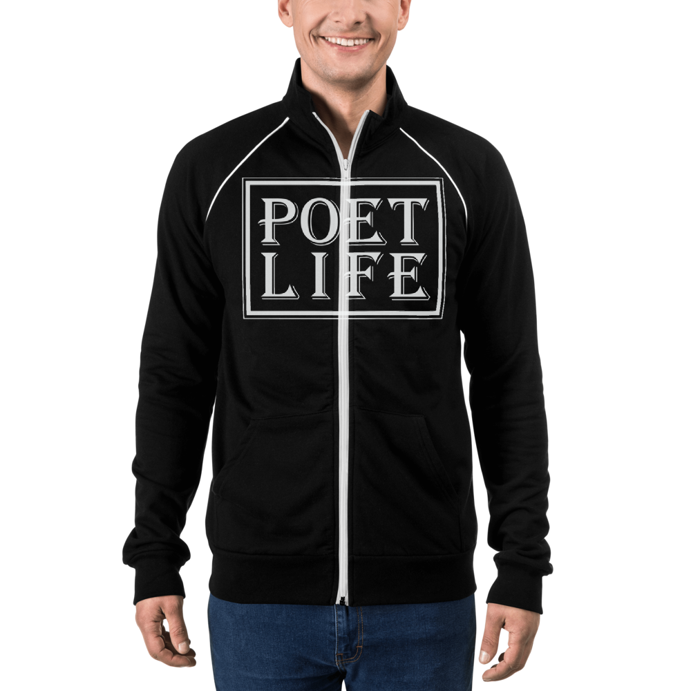 Poet Life Signature Logo Piped Fleece Jacket