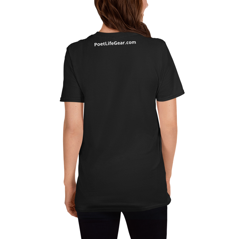 Fighting Cancer With Poetry Short-Sleeve Unisex T-Shirt (Uterine)