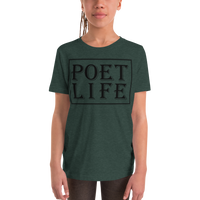 Kids' Poet Life Signature Logo Short Sleeve T-Shirt