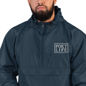 Poet Life Signature Logo Embroidered Champion Packable Jacket
