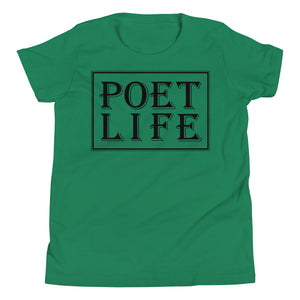 Poet Life Signature Logo Youth Short Sleeve T-Shirt