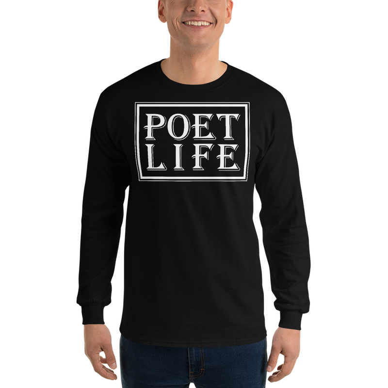 Men's Poet Life Signature Logo Long Sleeve Shirt