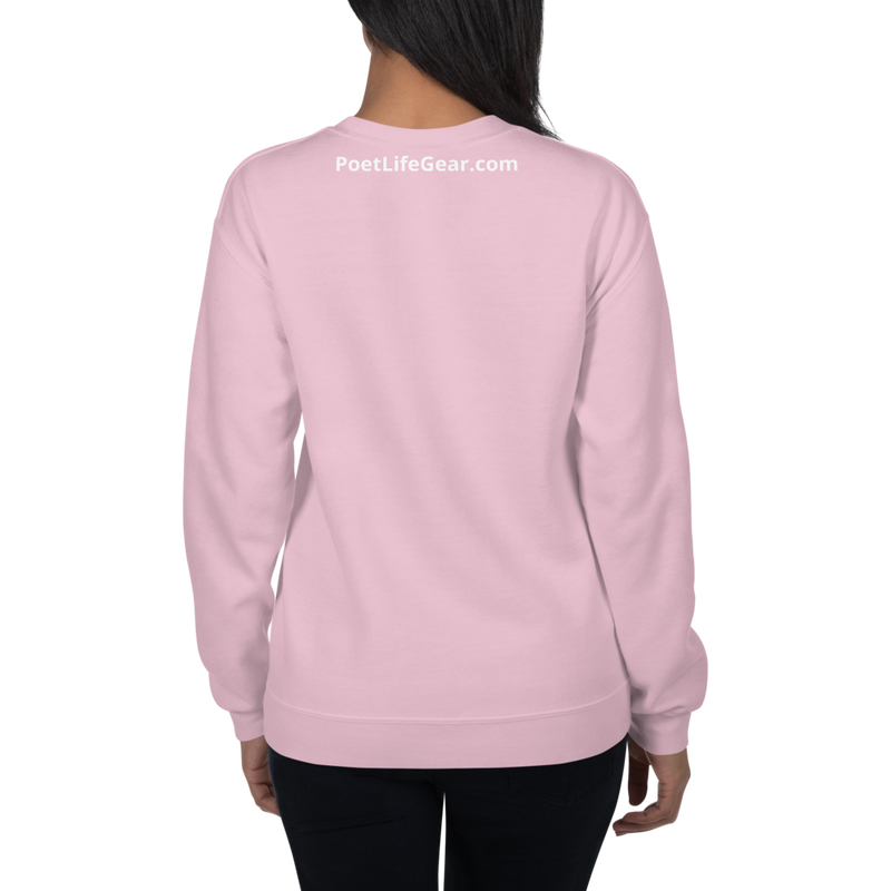 Fighting Cancer With Poetry Unisex Sweatshirt (Colorectal)