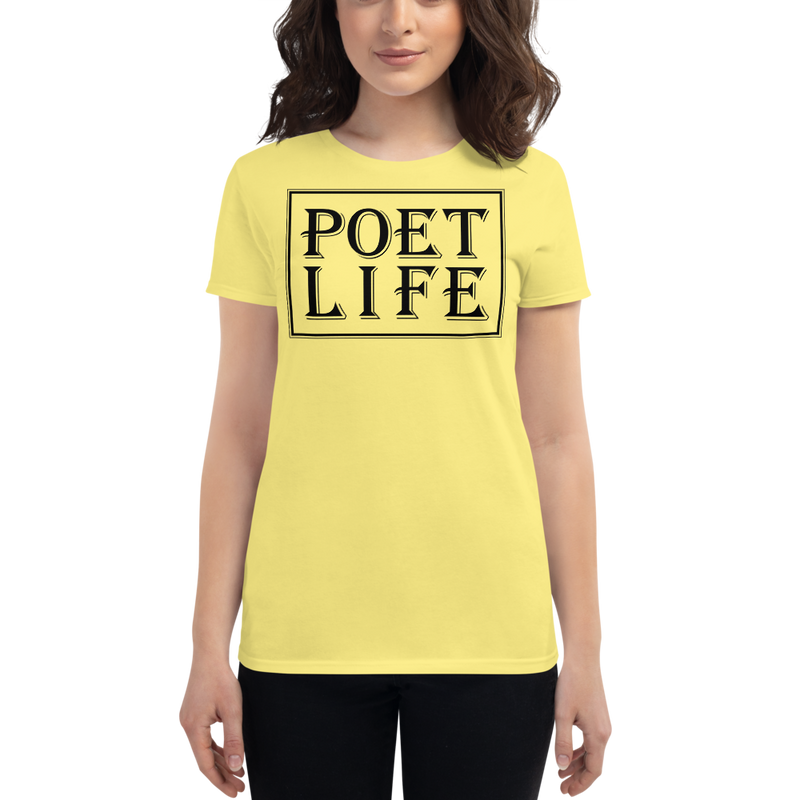 Women's Poet Life Signature Short Sleeve T-shirt