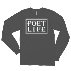 Unisex Poet Life Signature Long Sleeve Shirt