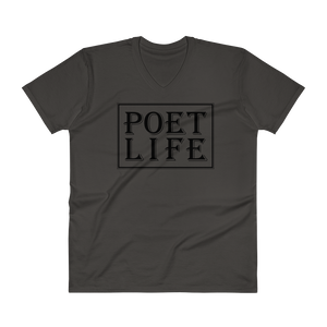 Men's Poet Life Signature Logo V-Neck T-Shirt