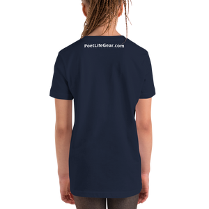 Fighting Cancer With Poetry Youth Short Sleeve T-Shirt (Colorectal)