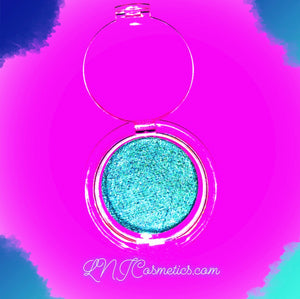 Mermaid Mineral Eyeshadow - all natural TEAL