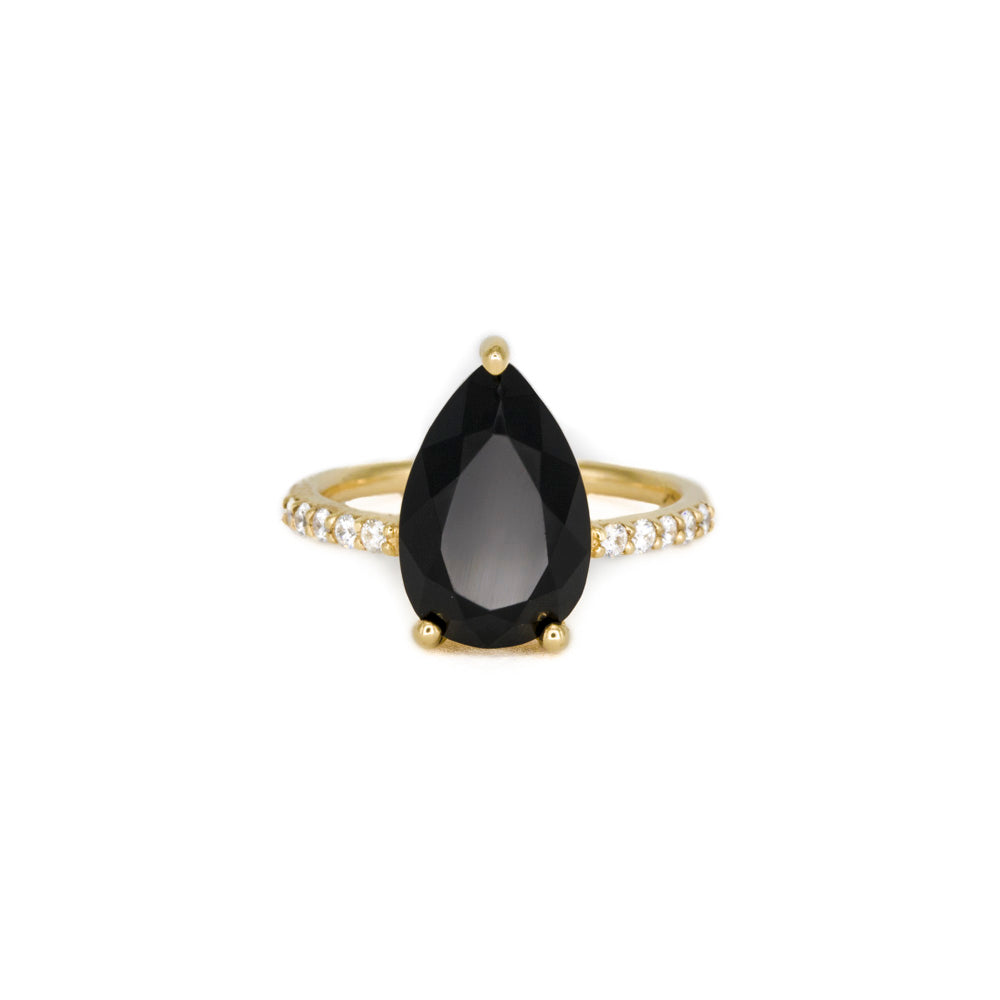 Sweet Melissa Black Onyx Ring