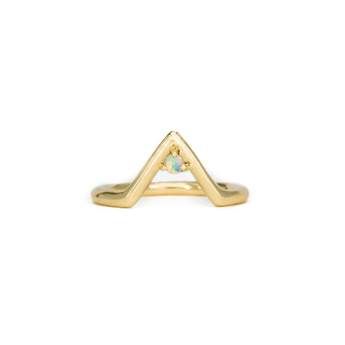Hanging in the Balance Opal Ring