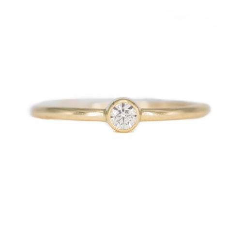 Sweet Pea Stacking Ring