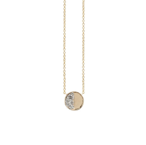 Under the Perfect Moon Pendant- Gibbous Moon