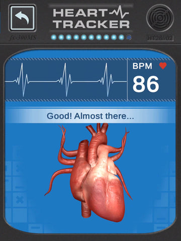 Check out how your heart rate changes in the Virtuali-Tee!