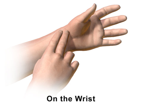 How to take your pulse on the wrist