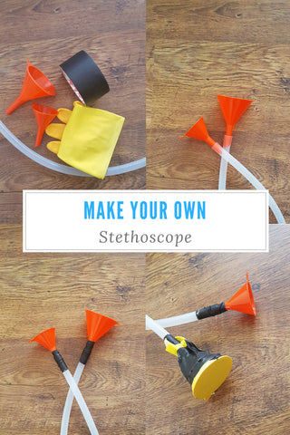 Make your own stethoscope!
