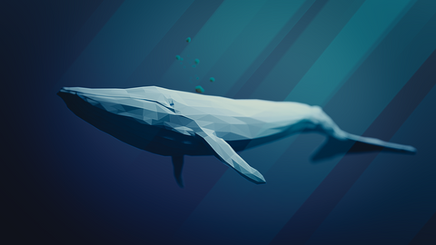 A blue whale's heart is about the same size as a small car!