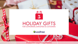 5 Holiday gifts for coworkers & employees