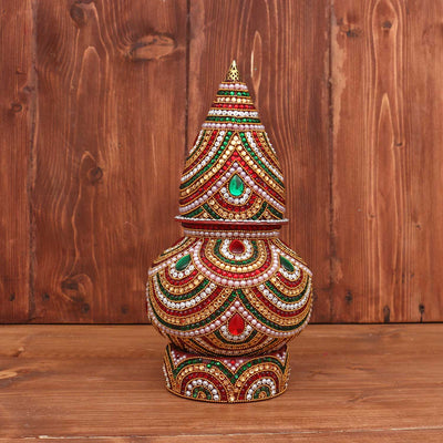 Kalash - Stone and Kundan Big - W2882