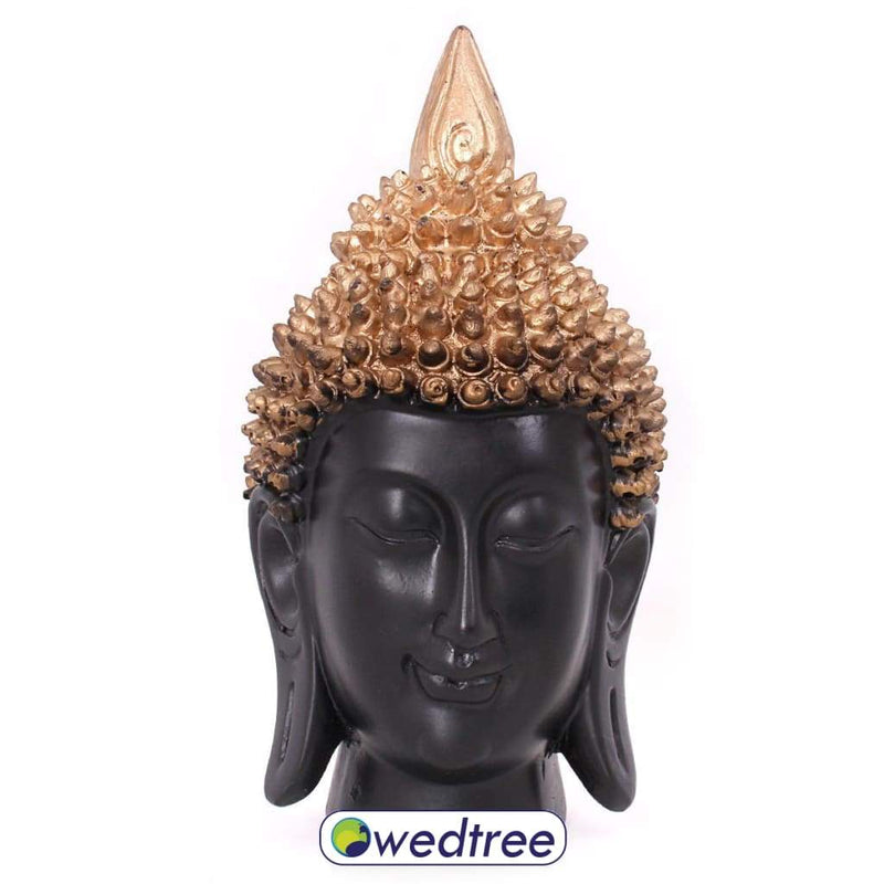 Buddha Face With Crown Home Decors