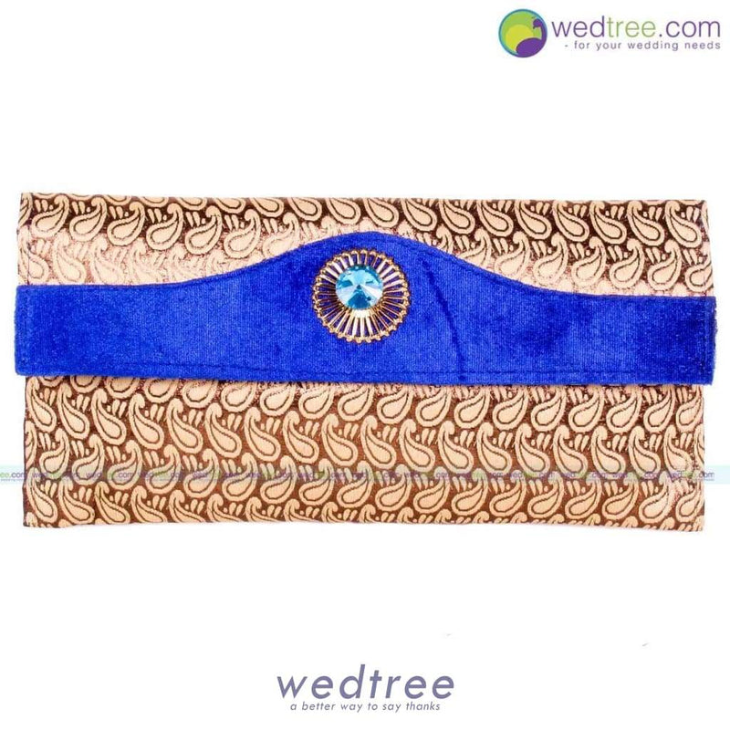 Clutch Type - Golden Motif Clutches & Purses