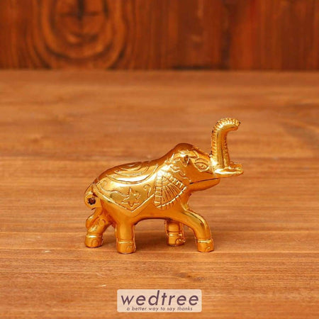 Elephant Kumkum Holder - W3641 Kum Holders
